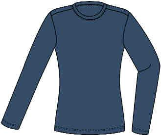 LADIES FR KNIT XT3LPO5 Ladies Knit Long Sleeve T-Shirt 1 5 oz. Polartec FR Power Dry 7% Modacrylic, 8% Rayon Superior wicking action. Comfortable rib knit collar and cuffs.