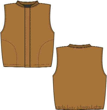 LADIES FR OUTERWEAR-DUCK X15LAM7 Ladies Duck Vest Jacket Liner X15LAM10 X340LAM7 Ladies Lined Duck Bib Overall 4 11 oz. Milliken Amplitude DUCK - 88% Cotton / 1% Nylon 7 oz. or 10 oz.