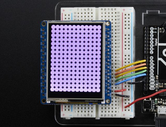 Adafruit GFX Library The Adafruit_GFX library for Arduino provides a common syntax and set of graphics functions for all of our TFT, LCD and OLED displays.