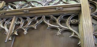Very nice carved gothic
