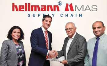 In addition to the existing Hellmann contract logistics business in Sri Lanka being transferred to the new joint venture, a new fashion logistics facility will be opened at the MAS compound in
