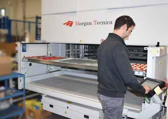 We wanted to tell our customers, that they should be confident that Morgan is not a company somewhere in Italy that just sends machines.