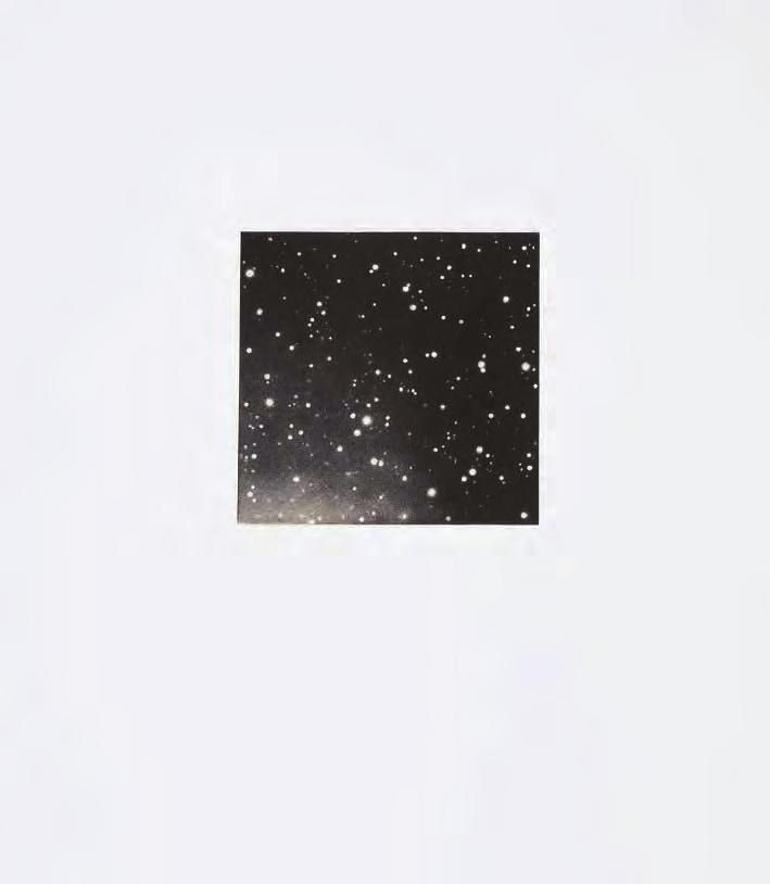 VIJA CELMINS Untitled, 1995 For Parkett 44 Mezzotint (manière noire), image size: 5 x 5 1 /8 (12,6 x 13 cm), on Rives, paper