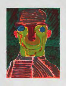 NICOLE EISENMAN Untitled, 2012 For Parkett 91 Woodcut, 24 1 /4