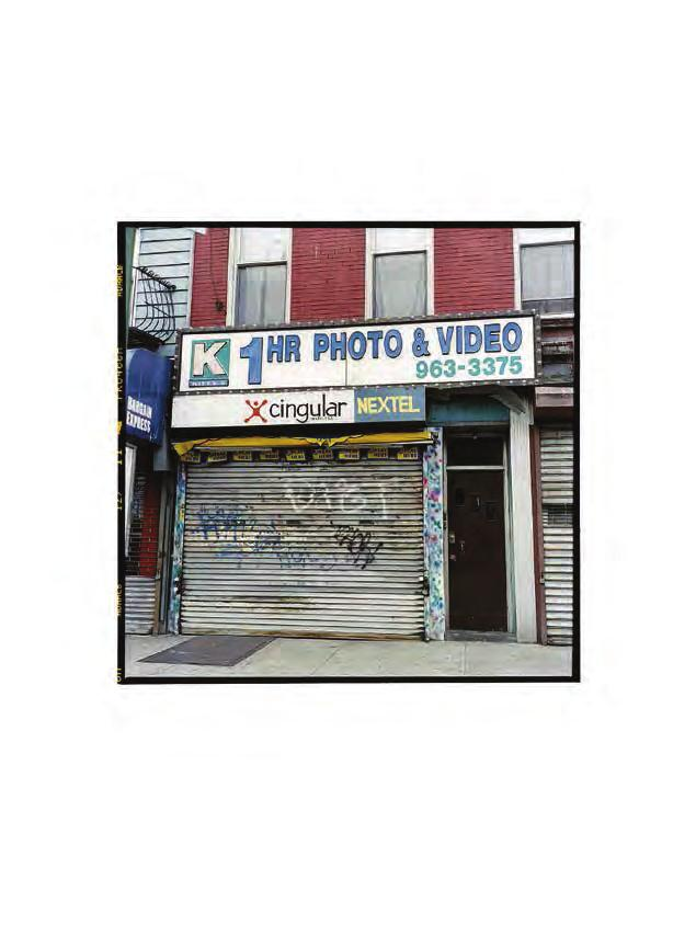 ZOE LEONARD 1 Hour Photo & Video, 2007/2008 For Parkett 84 C-print, paper size: 18 x 13 (45,7 x 33 cm), image: