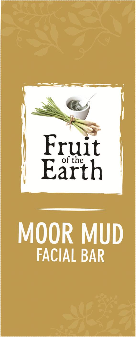 Fruit of the Earth MOOR MUD FACIAL BAR CODE-PC1004 BENEFITS FEATURES Cleanses: Cleanses skin from deep Formulated with natural inside ingredients with Heilmoor Clay Removes free radicals & from