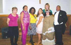 Some of the women in attendance were dressed in Victorian Outits and there was a lovely inspirational Praise Dance performed by Pastor Allie Perez from In His Image Women s Ministry.