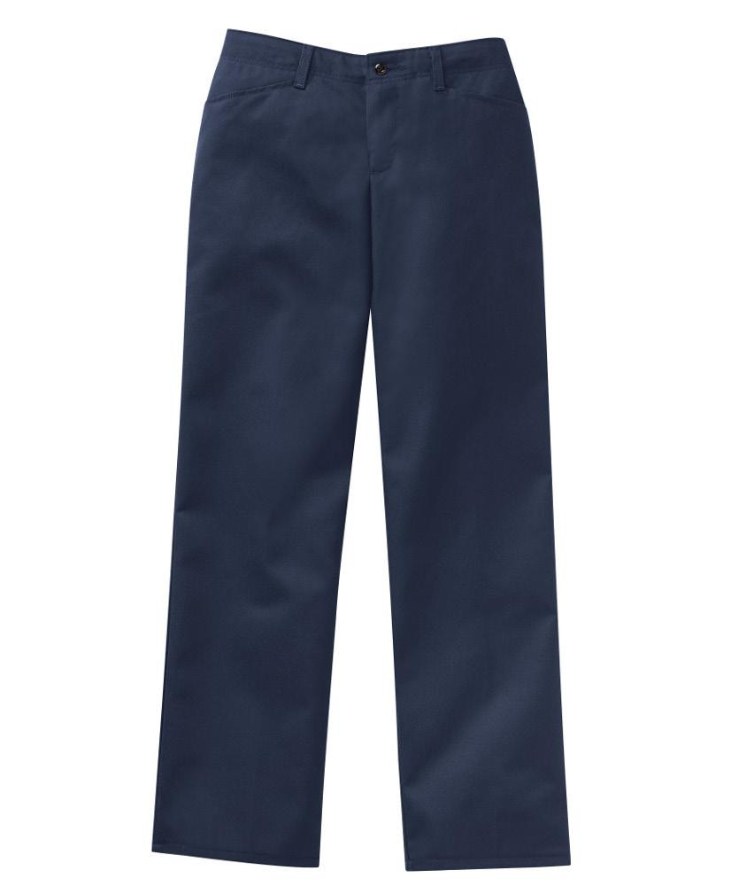 Poly Cotton Pants - Women *Colour not available, photo for detail only Fabric: 7.5 oz.