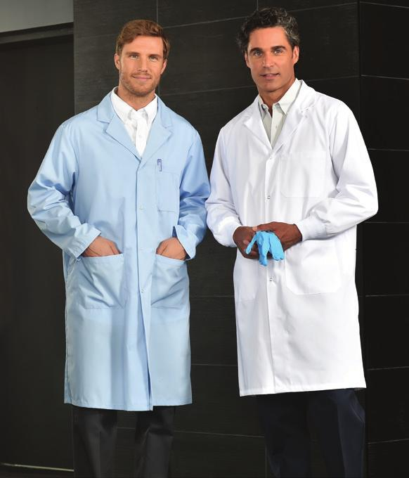 Poly Cotton Lab Coats Fabric: 5.5oz.