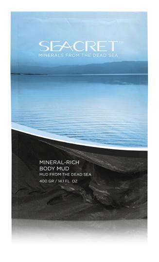 BODY CARE MUD THERAPY FOOT CREAM An oil-free, water based moisturizer containing Green Tea and Cucumber extracts, Dead Sea Minerals, and a blend of vitamins to hydrate skin and promote collagen