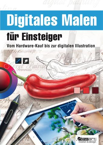 Digital Painting for beginners provides an overview of the fields of application and the requirements in hard and software for digital painting with the PC and mobiel devices.