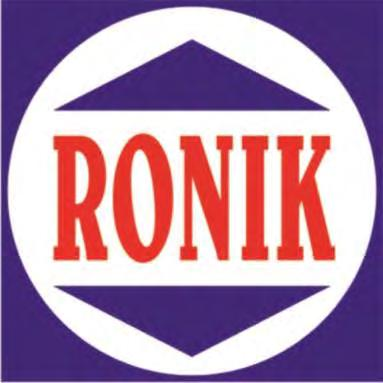 Trade Marks Journal No: 1784, 13/02/2017 Class 11 2911614 26/02/2015 NILESH MORAKHIA trading as ;RONIK COOKWARE, a Proprietorship firm 39, Cigarettewala Building, 4th Floor, 364, S.V.