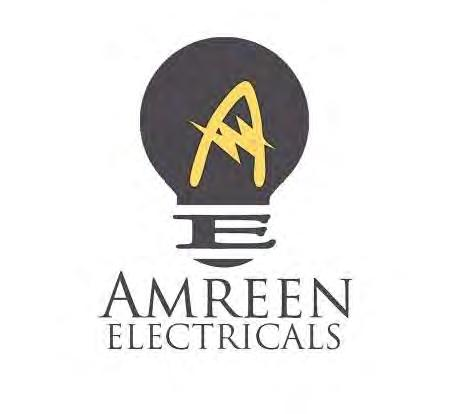 Trade Marks Journal No: 1784, 13/02/2017 Class 11 3437617 20/12/2016 AMREEN ELECTRICALS PRIVATE LIMITED trading as ;AMREEN ELECTRICALS PRIVATE LIMITED SCO-183, FIRST FIOOR, SECTOR-7-C,