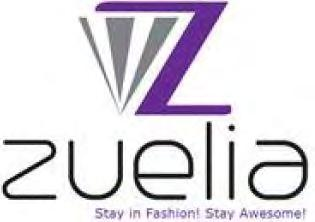 Trade Marks Journal No: 1784, 13/02/2017 Class 14 3452679 07/01/2017 ZUELIA FASHIONS PRIVATE LIMITED trading as ;Trading as ZUELIA FASHIONS PRIVATE LIMITED, a Manufacturer, seller and distributor