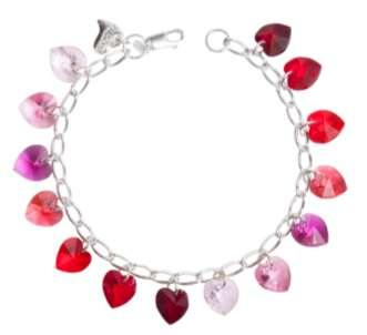 SWAROVSKI ELEMENTS crystal hearts.