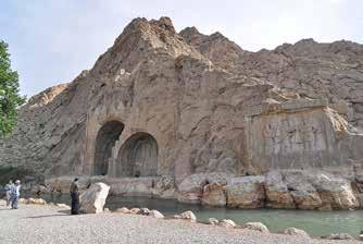 Observations on the Rock Reliefs at Taq-i Bustan: A Late Sasanian Monument along the Silk Road Matteo Compareti Renmin University of China, Beijing The unique Sasanian rock reliefs at Taq-i Bustan