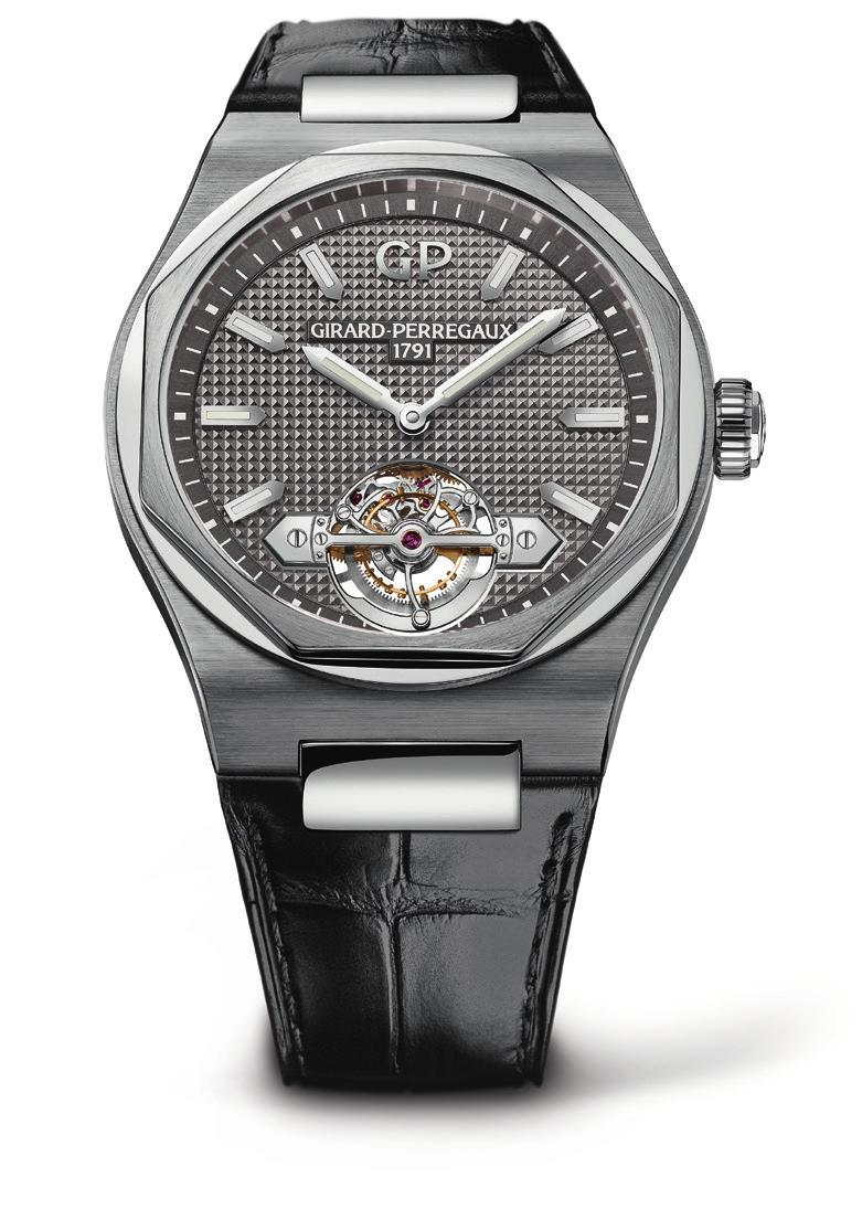 BIRTH OF AN ICON Nomen est Omen This Latin proverb translates to the name says it all. It befits this Laureato model by Girard-Perregaux particularly well, as the following story reveals.