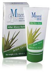 ALOE VERA AFTER SHAVE BALM (Plastic tube, boxed, 120 ml / 4.