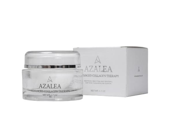 Azalea Advanced Collagen Therapy Youthful beauty can be achieved by the smoothing effect of collagen.