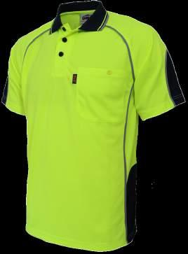 3564 HIVIS GALAXY SUBLIMATED POLO