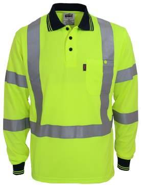 3710 HIVIS X BACK & BIO-MOTION D/N POLO 3730 HIVIS X BACK