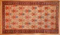 RUGS LOT 933 923 Antique Zeichor Kuba rug, approx 34 x 51