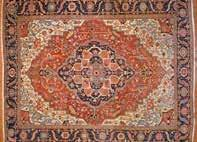 x 95 Persia, circa 1930 Est $150-250 Antique Serapi carpet,