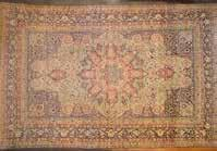 RUGS 932 Antique Lavar Kerman carpet, approx 125 x 195 Persia, circa 1890 Est
