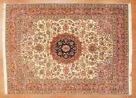 Chinese rug, approx 89 x 114 China, circa 1925 Est $1000-1500 949 Antique Nain rug,
