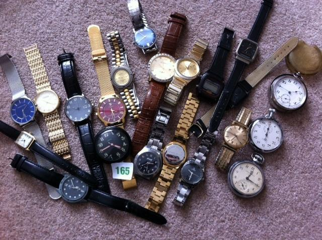 Triumph and approx 15 wrist watches