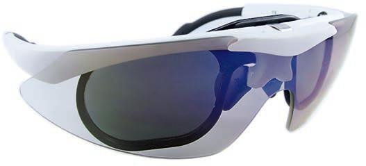 The company s laser safety eyewear protects physicians, technicians and patients, and is certified to block laser radiation from virtually all laser applications.