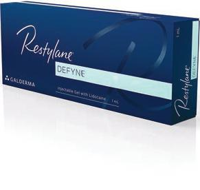 Restylane Refyne and Restylane Defyne Restylane Refyne and Restylane Defyne are the latest FDA approved dermal fillers for the treatment of smile and laugh lines (such as nasolabial folds).