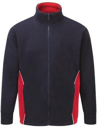TWO TONE RANGE 20 300gsm 60 10 1 SPORTSTONE SOFTSHELL JACKET SPORTSTONE FLEECE Product code: 3180-30 One super warm, stylish fleece Very popular style with contrast side panel and piping Stand up