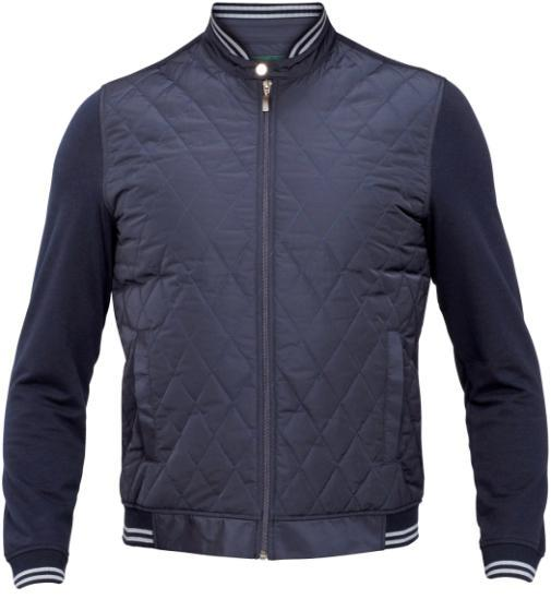Dk Navy Offered in 1 Shade only : Main - 100% Cotton Quilted - 100% Polyester LS1822