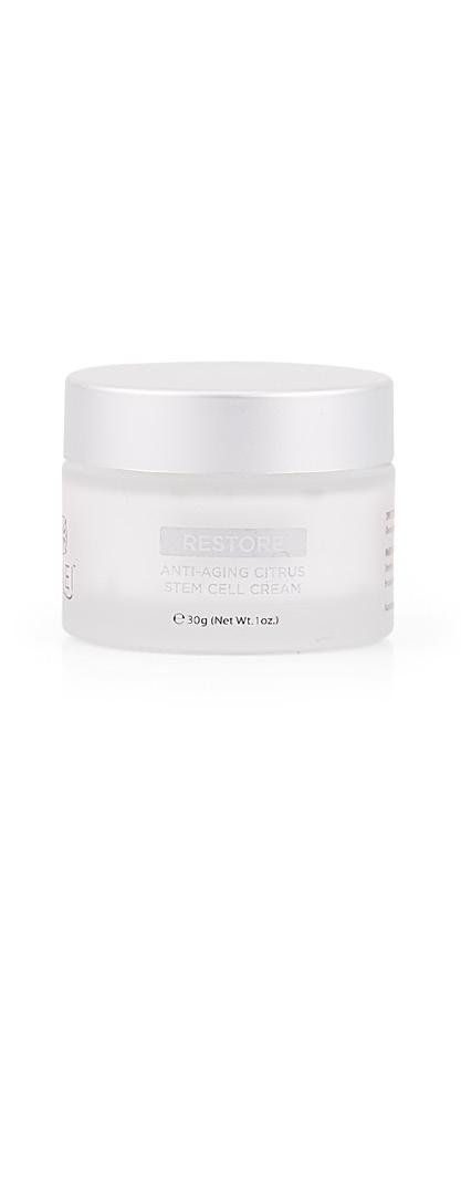 Restore Revive with age-defying botanicals A state-of-the-art anti-aging night repair cream formulated with citrus plant stem cells.