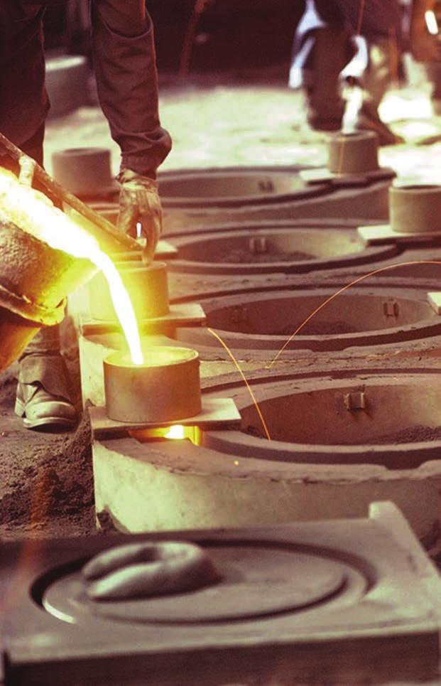 Failure to provide personal protective equipment designed for molten metal splash hazard