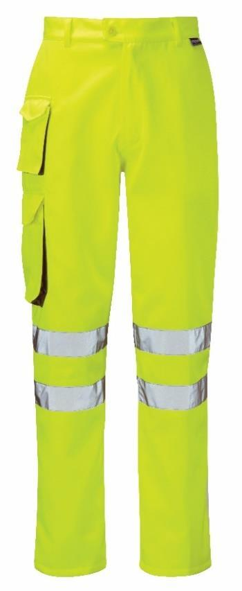 Swing Pockets, Zip fly with button 300 Denier waterproof fabric. EN471 (class-1) & ANSI compliant and OEKO-TEX certified Reflective Tape.