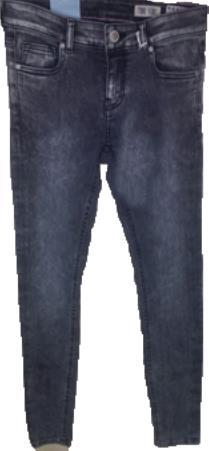 Skinny Fit 10 oz Stretch denim Dark Wash with