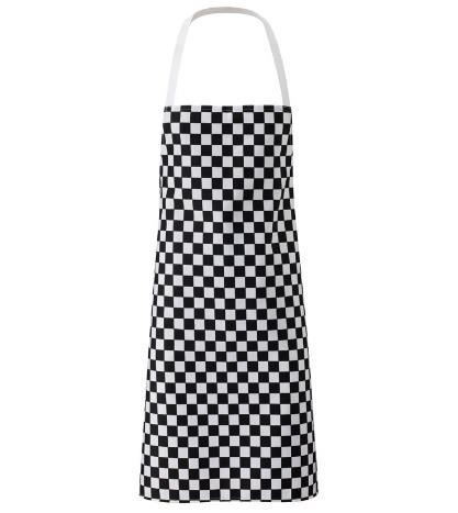 The classic chef s apron. Cut long to offer maximum coverage.