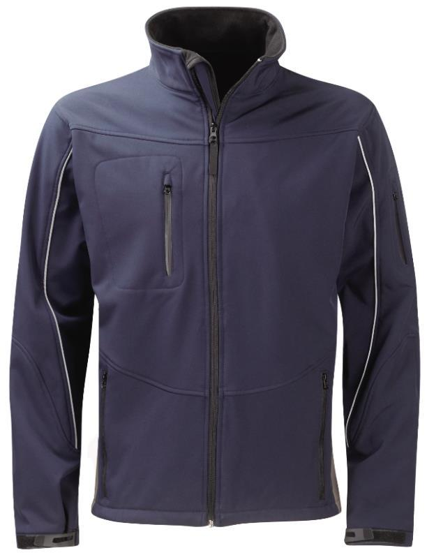 Fleece lined stand collar, full length zip fastening Two zip Side pockets.