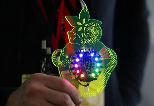Con Badge with Circuit Playground Express Created by