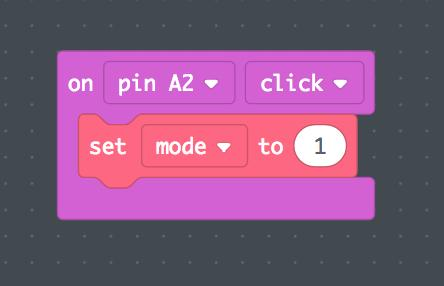 Repeat the steps above to set up pins A3, A6, and A7 to show the other three animation modes when touched. We're almost done!