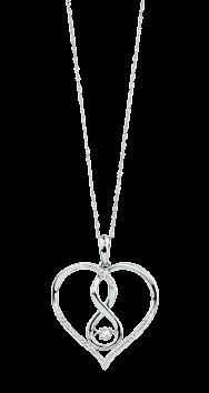 Heart pendant 69 11572671 y. Diamond pendant, 10kt gold, available in 0.