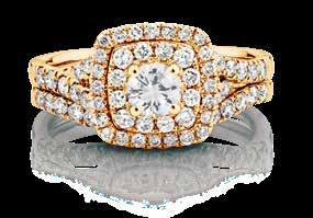18 carat of diamonds Bridal
