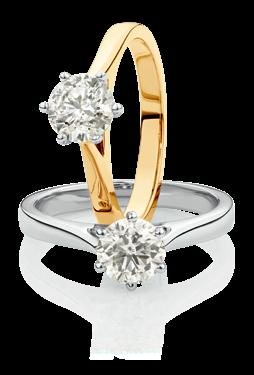 carat diamond solitaires 13989774, 13989873 NEW 399 0.