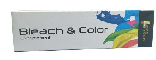 USAGE & DIRECTIONS BLEACH&COLOR COLOR PIGMENT Bleach & Color lifts and deposits color on natural and/or colored hair in one step.