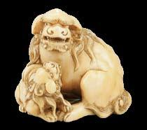 Netsuke collecting seems still to be about the carver rather than the carving, Lot 68