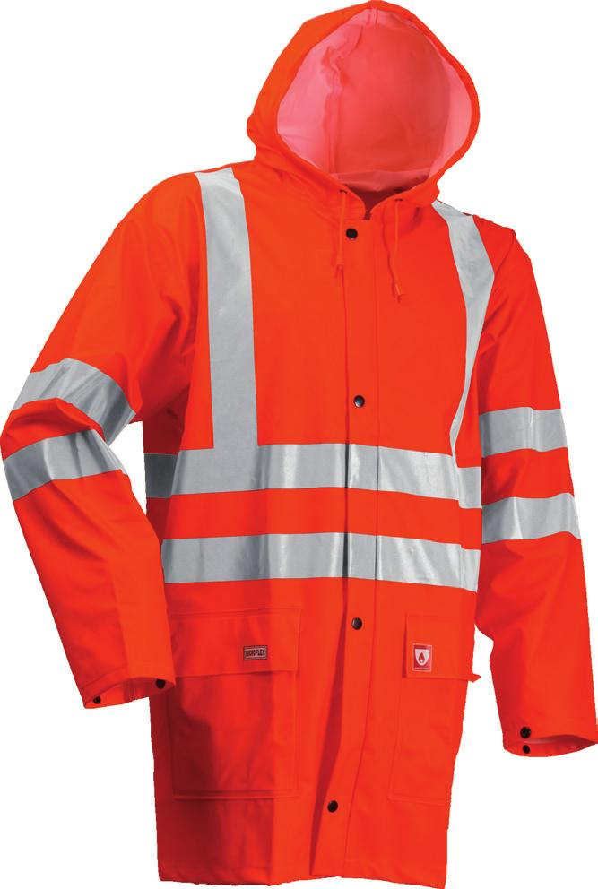 FR rain jacket Art. FR-LR55-05 Orange Art.