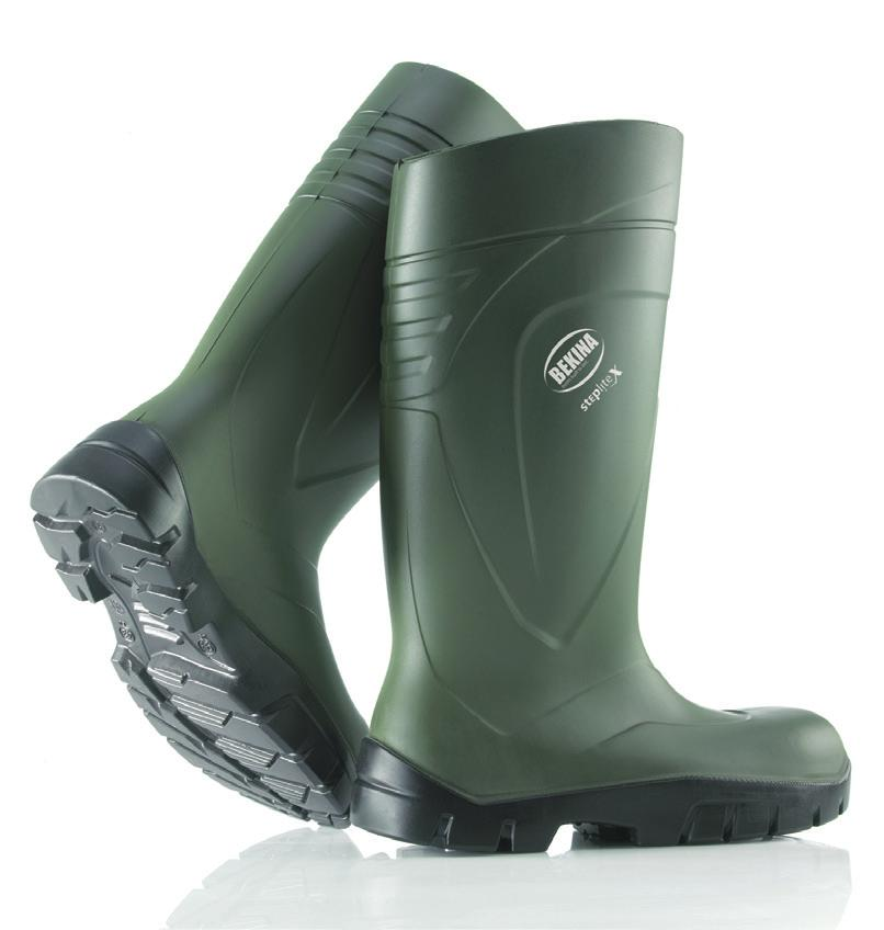 X101 comes with Toecap in steel Size 36-49, UK 4-13,5 CE: EN ISO 20345 PVC safety boot Art.