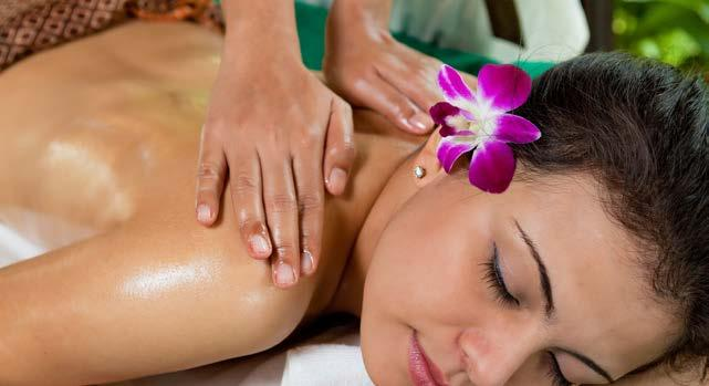 Deep Tissue Massage 60 mins / THB 2,800 or 90 mins / THB 3,300 This wonderful sports massage has been developed for